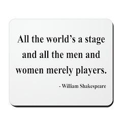 Shakespeare 1 Mousepad