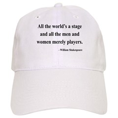 Shakespeare 1 Baseball Cap