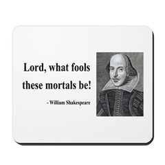 Shakespeare 2 Mousepad