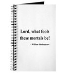 Shakespeare 2 Journal