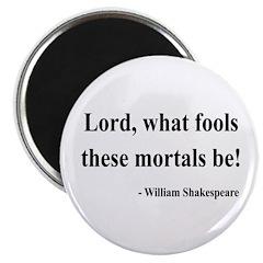 """Shakespeare 2 2.25"""" Magnet (10 pack)"""
