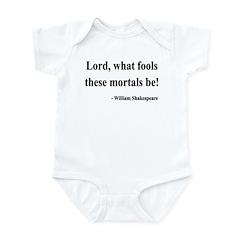 Shakespeare 2 Infant Bodysuit