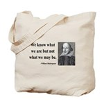 Shakespeare 3 Tote Bag