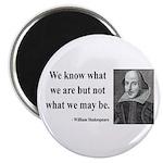 Shakespeare 3 Magnet