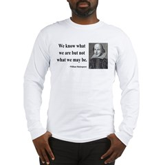 Shakespeare 3 Long Sleeve T-Shirt