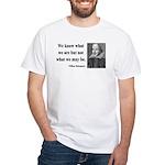 Shakespeare 3 White T-Shirt