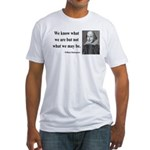 Shakespeare 3 Fitted T-Shirt