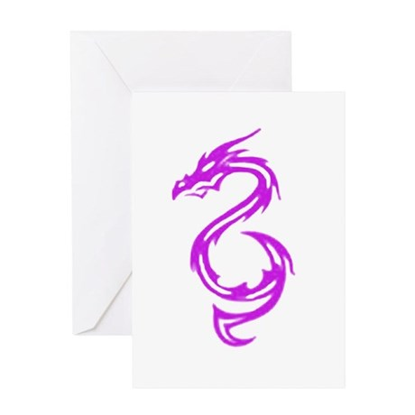 Fantasy Dragon Greeting Card