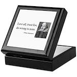 Shakespeare 4 Keepsake Box