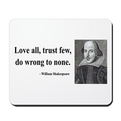 Shakespeare 4 Mousepad