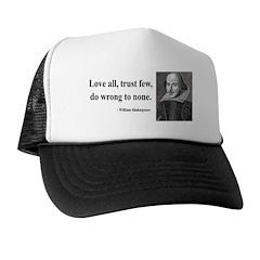 Shakespeare 4 Trucker Hat