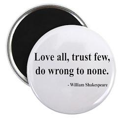 """Shakespeare 4 2.25"""" Magnet (10 pack)"""