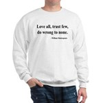 Shakespeare 4 Sweatshirt