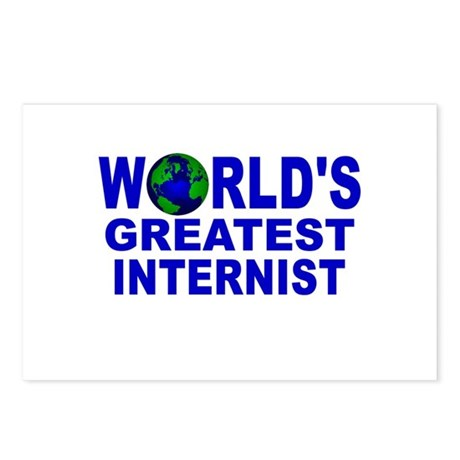 World's Greatest Internist Postcards (Package of 8