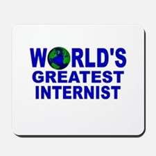 World's Greatest Internist Mousepad