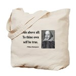 Shakespeare 5 Tote Bag