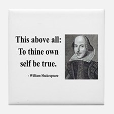 Shakespeare 5 Tile Coaster