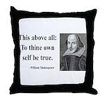 Shakespeare 5 Throw Pillow