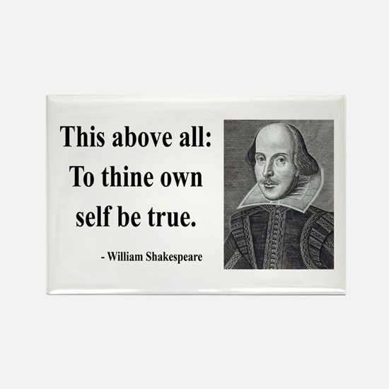 Shakespeare 5 Rectangle Magnet