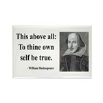 Shakespeare 5 Rectangle Magnet (10 pack)