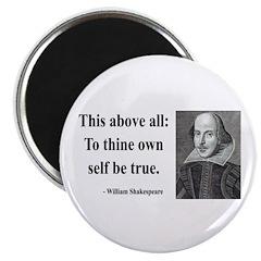 """Shakespeare 5 2.25"""" Magnet (10 pack)"""