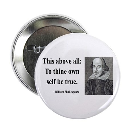 "Shakespeare 5 2.25"" Button"