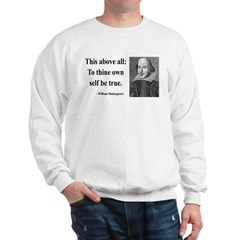 Shakespeare 5 Sweatshirt
