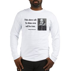 Shakespeare 5 Long Sleeve T-Shirt