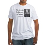 Shakespeare 5 Fitted T-Shirt