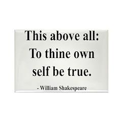 Shakespeare 5 Rectangle Magnet (100 pack)