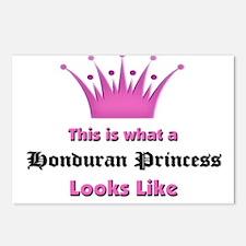 This is what an Honduran Princess Looks Like Postc