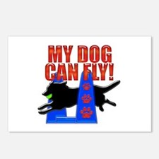 My Dog Can Fly! Postcards (Package of 8)