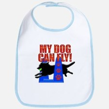 My Dog Can Fly Bib