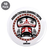 """Kasaan Cultural Learning Cent 3.5"""" Button (10 pack"""