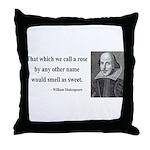 Shakespeare 6 Throw Pillow
