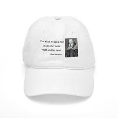 Shakespeare 6 Baseball Cap