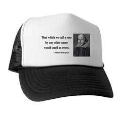 Shakespeare 6 Trucker Hat