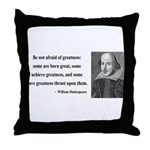 Shakespeare 7 Throw Pillow