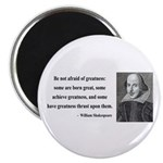 "Shakespeare 7 2.25"" Magnet (100 pack)"