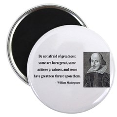 """Shakespeare 7 2.25"""" Magnet (100 pack)"""