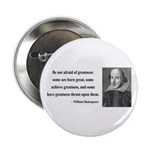 "Shakespeare 7 2.25"" Button"