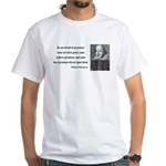 Shakespeare 7 White T-Shirt