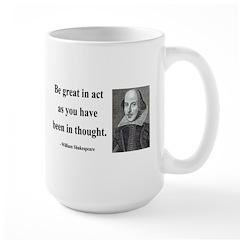 Shakespeare 8 Large Mug