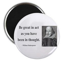 Shakespeare 8 Magnet