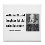 Shakespeare 9 Tile Coaster