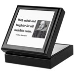 Shakespeare 9 Keepsake Box