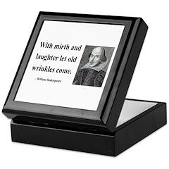 Shakespeare 9 Keepsake Box