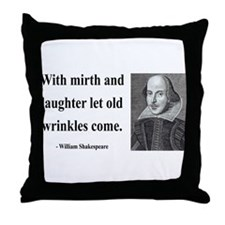 Shakespeare 9 Throw Pillow