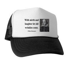 Shakespeare 9 Trucker Hat