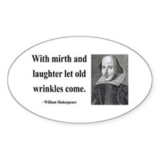 Shakespeare 9 Oval Decal